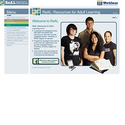 ReAL - Resources for Adult Learning