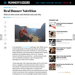 Real Runner Nutrition