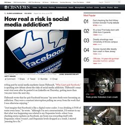 How real a risk is social media addiction?
