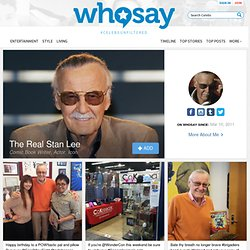 The Real Stan Lee's Photos on WhoSay