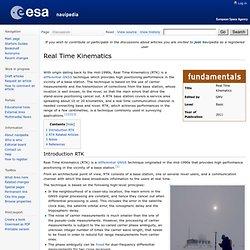 Real Time Kinematics - Navipedia