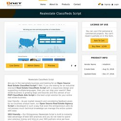 Real Estate classified script – i-Netsolution