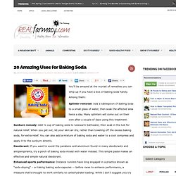 20 Amazing Uses For Baking Soda