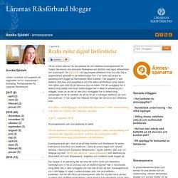 Realia möter digital läsförståelse