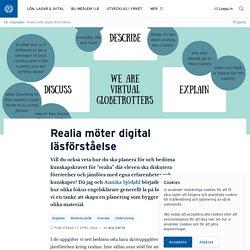 Realia möter digital läsförståelse · Mia Smith