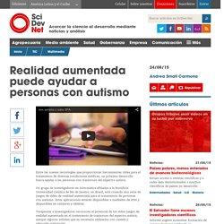 Realidad aumentada puede ayudar a personas con autismo - SciDev.Net América Latina y el Caribe