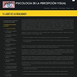 PSICOLOGÍA DE LA PERCEPCIÓN VISUAL