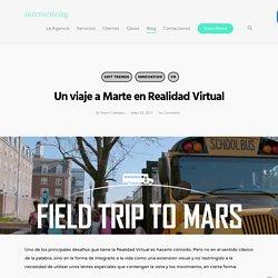 Un viaje a Marte en Realidad Virtual