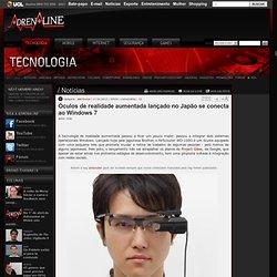 Óculos de realidade aumentada lançado no Japão se conecta ao Windows 7