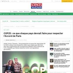 Le réalisateur Michael Wadleigh entre en scène à la COP25