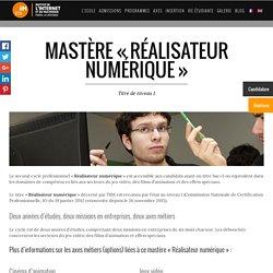 """Bac+5 """"Réalisateur numérique"""" : cinéma d'animation, 3D, jeux vidéo - IIM Paris"""