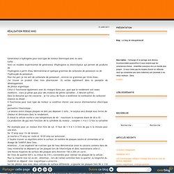 RÉALISATION PERSO HHO - Le blog de leblogdedany8