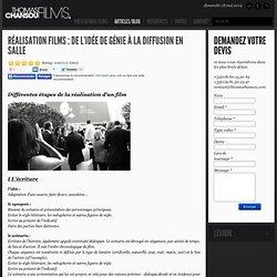 Réalisation films : de l'idée de génie à la diffusion en salle - Thomas Chansou, producteur & réalisateur à Paris, Nice, Cannes, Monaco, Sophia-Antipolis