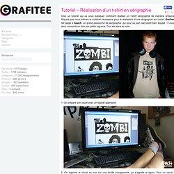 Tutoriel – Réalisation d'un t-shirt en sérigraphie