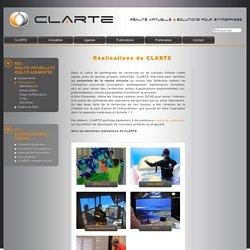 Réalisations de CLARTE
