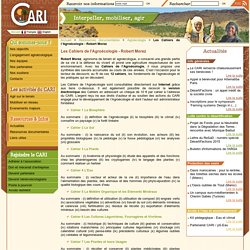 Le CARI (Centre d'Actions et de Réalisations Internationales)