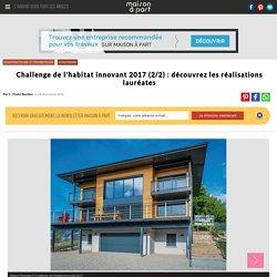 Maison éco-connectée, médaille d'argent catégorie réalisations remarquables - 29/11/16