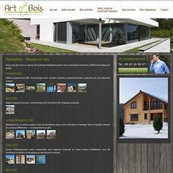 Réalisations de maisons en bois