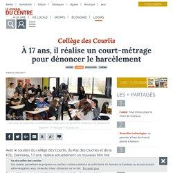 À 17 ans, il réalise un court-métrage pour dénoncer le harcèlement - Nevers (58000) - Le Journal du Centre