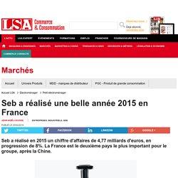 Seb a réalisé une belle année 2015 en France - Petit éléctroménager