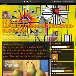 vidéo 1975 : Quand une nature morte aux poires réalisée avec des pastels tendres peut être assimilée à une peinture.