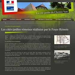 Les cités-jardins rémoises réalisées par le Foyer Rémois - La cité-jardin du Chemin Vert à Reims - Direction régionale des affaires culturelles Champagne-Ardenne