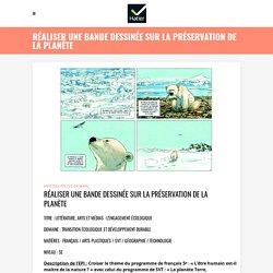 Réaliser une bande dessinée sur la préservation de la planète - Hatier EPI