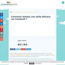 ▷ Comment réaliser une veille efficace sur Facebook ?