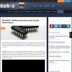 DrawSCH – Réaliser des schémas de circuits électroniques
