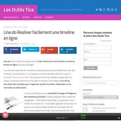 Line.do Realiser facilement une timeline en ligne