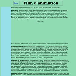 Réaliser un film d'animation