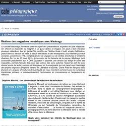 Réaliser des magazines numériques avec Madmagz