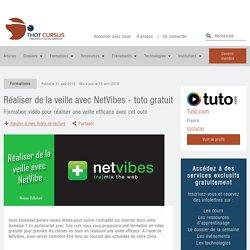 Réaliser de la veille avec NetVibes - tuto gratuit - Thot Cursus
