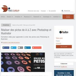 Réaliser des pictos de A à Z avec Photoshop et Illustrator