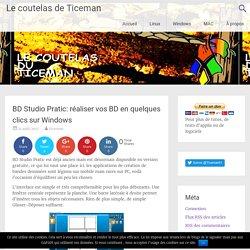 BD Studio Pratic: réaliser vos BD en quelques clics sur Windows