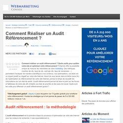 Audit positionnement et outils statistiques pour optimiser le référencement d'un site Internet
