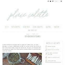 DIY: réaliser ses tisanes - Place ColettePlace Colette