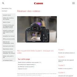 Réaliser une vidéo - Canon France