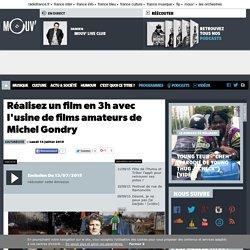 Réalisez un film en 3h avec l'usine de films amateurs de Michel Gondry
