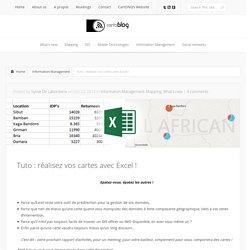 Tuto : réalisez vos cartes avec Excel !