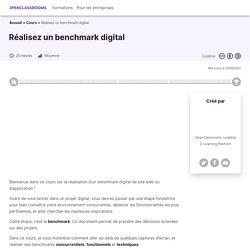 Réalisez un benchmark digital