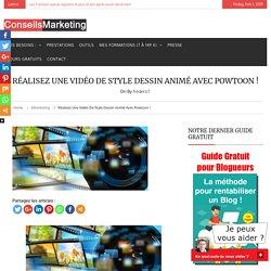 Réalisez une vidéo de style dessin animé avec Powtoon !ConseilsMarketing.fr