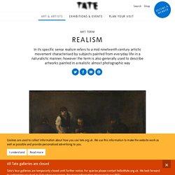 Realism – Art Term