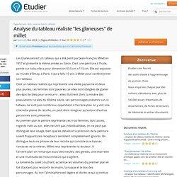 """Analyse Du Tableau Réaliste """"Les Glaneuses"""" De Millet - Compte Rendu - Helene29"""