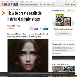 How to create realistic hair in 4 simple steps