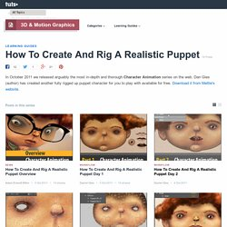 How To Create And Rig A Realistic Puppet - Tuts+ 3D & Motion Graphics Tutorials
