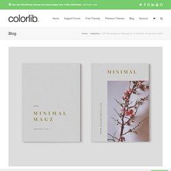 30 Free Magazine Mockups For A Realistic Presentation 2020