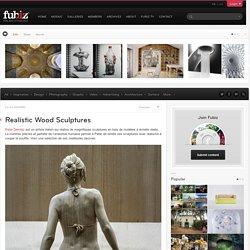 Realistic Wood Sculptures