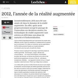 2012, l'année de la réalité augmentée