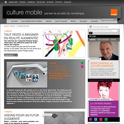 Culture Mobile-Dossier sur la RA